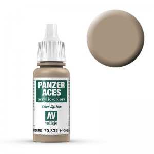 Panzer Aces 032 Highlight Japanese Tankcrew 17 ml · VAL PA332 ·  Acrylicos Vallejo