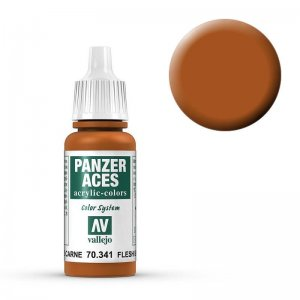 Panzer Aces 041 Flesh Base 17 ml · VAL PA341 ·  Acrylicos Vallejo