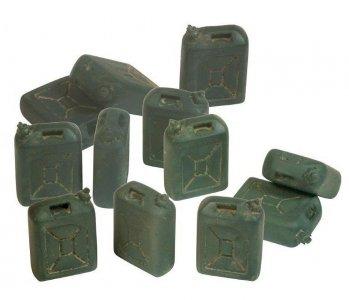 Israelische Benzinkanister (12 Stück) · VAL SC05208 ·  Acrylicos Vallejo · 1:35