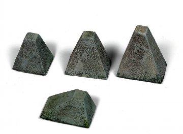 Höckerhinderniss, WWII (4 Stück) · VAL SC05218 ·  Acrylicos Vallejo · 1:35