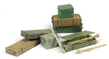 Panzerfaust 60M mit Kisten (4 Stück) · VAL SC05222 ·  Acrylicos Vallejo · 1:35