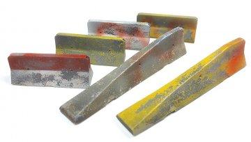 Betonbarrieren (6 Stück) · VAL SC05228 ·  Acrylicos Vallejo · 1:35