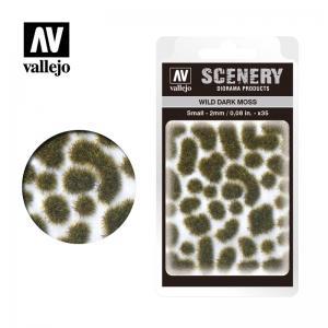 Wild-Gras, Moos, dunkel, 2 mm · VAL SC402 ·  Acrylicos Vallejo