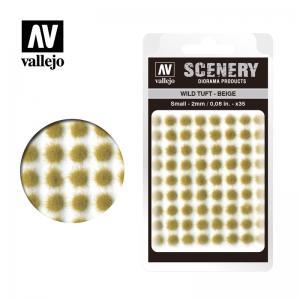 Wild-Gras, beige, 2 mm · VAL SC403 ·  Acrylicos Vallejo