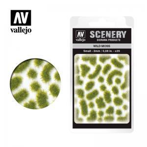 Wild-Gras, Moos, 2 mm · VAL SC404 ·  Acrylicos Vallejo