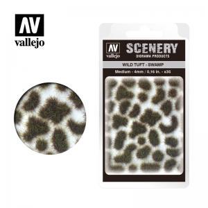 Wild-Gras, Sumpf, 4 mm · VAL SC405 ·  Acrylicos Vallejo