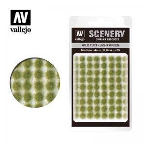 Wild-Gras, hellgrün, 4 mm · VAL SC407 ·  Acrylicos Vallejo