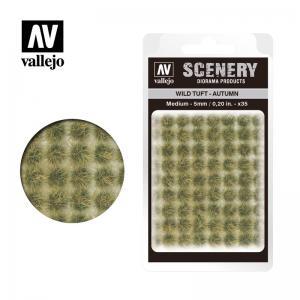 Wild-Gras, Herbst, 5 mm · VAL SC409 ·  Acrylicos Vallejo
