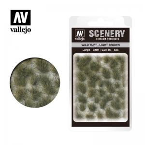 Wild-Gras, hellbraun, 6 mm · VAL SC418 ·  Acrylicos Vallejo