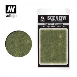 Wild-Gras, grün, trocken, 12 mm · VAL SC424 ·  Acrylicos Vallejo