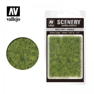 Wild-Gras, Dschungel, 12 mm · VAL SC428 ·  Acrylicos Vallejo
