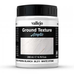 Vallejo Textur White Stone Paste (200 ml) · VAL VA26211 ·  Acrylicos Vallejo