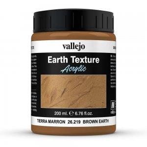 Vallejo Textur Brown Earth (200 ml) · VAL VA26219 ·  Acrylicos Vallejo