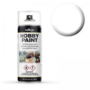 Vallejo Primer Premium White (400ml) · VAL VA28010 ·  Acrylicos Vallejo