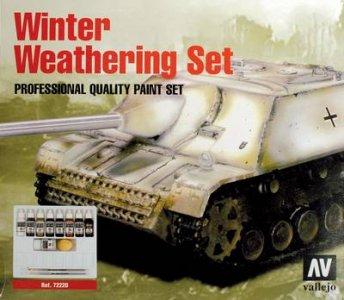Vallejo Winter Weathering Set · VAL VA72220 ·  Acrylicos Vallejo