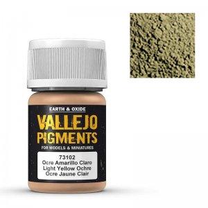 Vallejo Pigment Light Yellow Ocre 30ml · VAL VA73102 ·  Acrylicos Vallejo