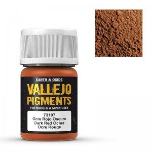 Vallejo Pigment Dark Red Ocre 30ml · VAL VA73107 ·  Acrylicos Vallejo