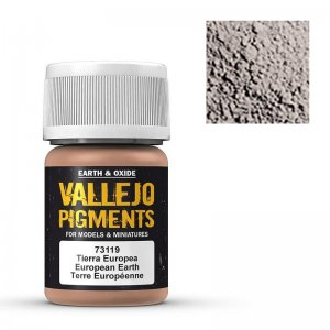 Europäische Erde, 30 ml · VAL VA73119 ·  Acrylicos Vallejo