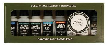 Model Color Set Accessories (8) · VAL VA73999 ·  Acrylicos Vallejo