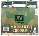 Model Color Military Colours (72 Farben, 3 Pinsel) · VAL VABOX73 ·  Acrylicos Vallejo
