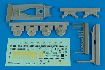 MHU-191/M munition transp.w.aero 58 adap · AERB 320015 ·  Aerobonus · 1:32
