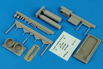 Oxygen/Acetylene welding cart · AERB 320037 ·  Aerobonus · 1:32