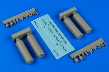 Compressed gas bottles-acetylene · AERB 320053 ·  Aerobonus · 1:32
