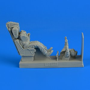 US Navy Fighter Pilot with ejection seat · AERB 320096 ·  Aerobonus · 1:32