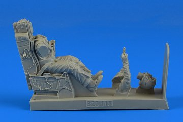 USAF Fighter Pilot with ejection seat - F-16 Fighting Falcon · AERB 320118 ·  Aerobonus · 1:32