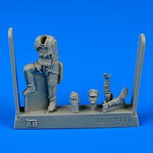 U.S.A.F.Fighter Pilot WWII-8th Army (European Battlefields) · AERB 480140 ·  Aerobonus · 1:48