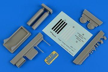 Oxygen/Nitrogen Handtruck type II · AERB 480177 ·  Aerobonus · 1:48