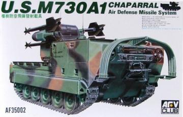 M730A1 CHAPARRAL - Air Defense Missile System · AF 35002 ·  AFV-Club · 1:35