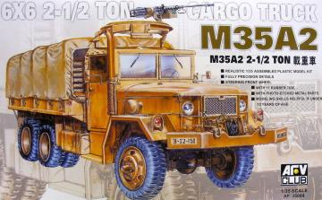 M35A2 0,5t Cargo Truck · AF 35004 ·  AFV-Club · 1:35