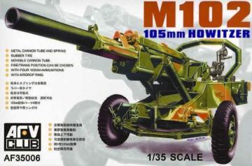 M102 105mm Howitzer · AF 35006 ·  AFV-Club · 1:35