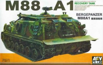 M88 A1 Recovery Tank · AF 35008 ·  AFV-Club · 1:35