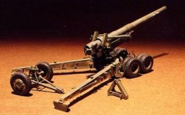 155mm LONG TOM canon · AF 35009 ·  AFV-Club · 1:35
