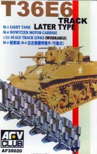TRACKS M3/M5 METAL CLEAT · AF 35020 ·  AFV-Club · 1:35