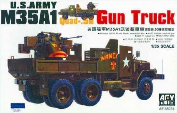 M35 GUN TRUCK VIETNAM · AF 35034 ·  AFV-Club · 1:35