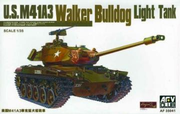 M41A3 WALKER BULLDOG LIGHT TAN · AF 35041 ·  AFV-Club · 1:35
