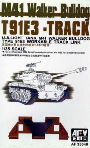 M-41/M-42 TRACKS (ARTICULATED) · AF 35046 ·  AFV-Club · 1:35