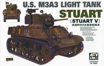 M3A3 STUART · AF 35053 ·  AFV-Club · 1:35