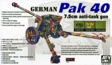 PAK40 76 mm GUN · AF 35071 ·  AFV-Club · 1:35