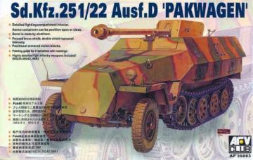 SDKFZ 251/22 AUSF D PAK40 · AF 35083 ·  AFV-Club · 1:35