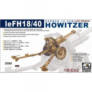 10,5 cm LEFH18/40 · AF 35089 ·  AFV-Club · 1:35