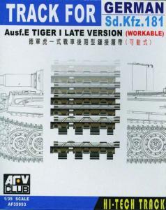 TRACKS TIGER I LATE (ARTICULATED) · AF 35093 ·  AFV-Club · 1:35