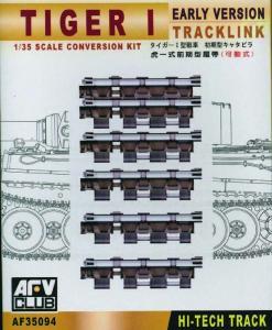 TRACKS TIGER I EARLY (ARTICULATED) · AF 35094 ·  AFV-Club · 1:35