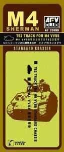 T-62 TRCAKS (M4 STANDART) · AF 35099 ·  AFV-Club · 1:35