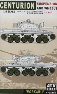 Centurion Suspension and wheels · AF 35101 ·  AFV-Club · 1:35