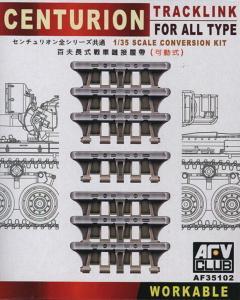 Centurion Tracklink for all Type Conversion Kit · AF 35102 ·  AFV-Club · 1:35