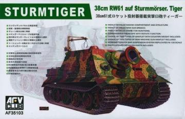 Sturmtiger 38cm RW61 · AF 35103 ·  AFV-Club · 1:35